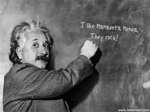 Einstein; Manasota rocks