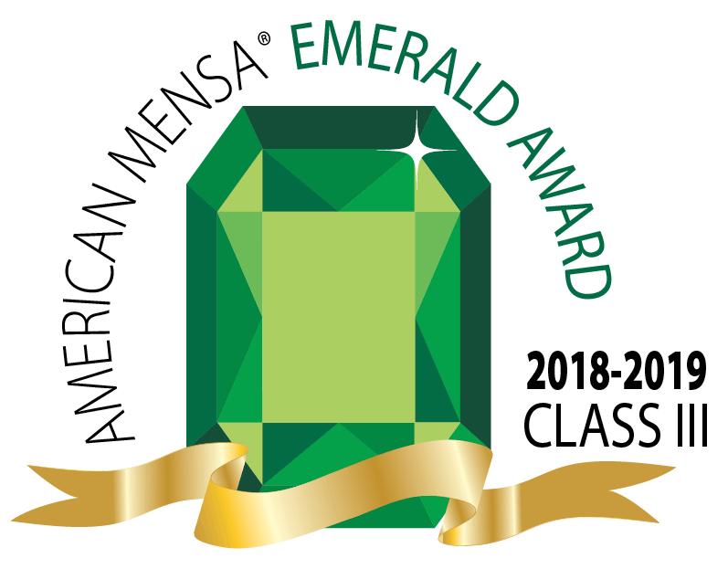Manasota Mensa Emerald Award